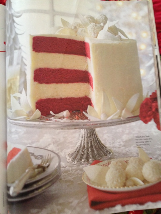 Red Velvet Christmas Cheesecake
